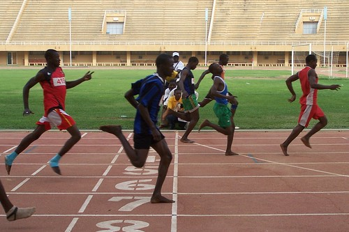 20090325 Champ Nat Scolaire 2e Cycle S 100m 3e | by AS Les Volcans - Niger