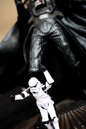 Escaping from Giant Vader | by DocChewbacca