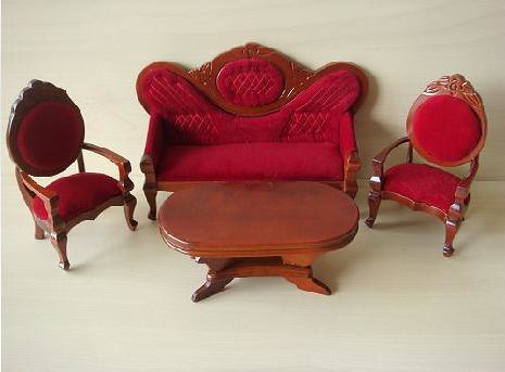 ... Old Fashioned Sofa Set | By Blythelover