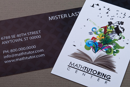 Tutoring Center Business Card | Tutoring Center Business Car… | Flickr