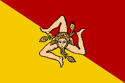 The Flag Of Sicily Its Meaning And Facts About Sicily Flickr