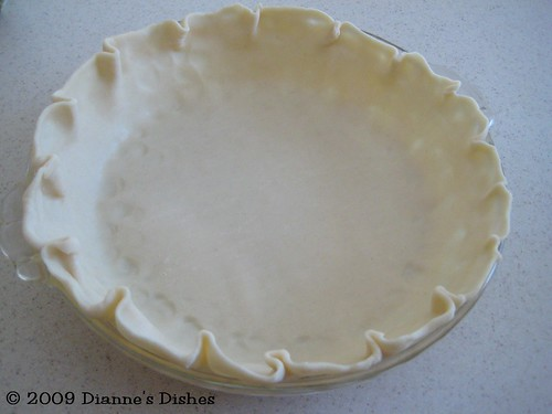 Coconut Pie: Pie Shell | by Dianne's Dishes