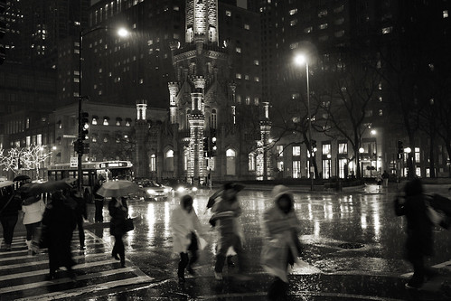 Rainy downtown | by zoltaan