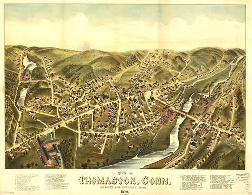 View of Thomaston, Conn. 1879. | by uconnlibrarymagic