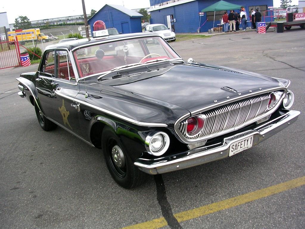 1962 Dodge Dart Police Car Mitch Prater Flickr