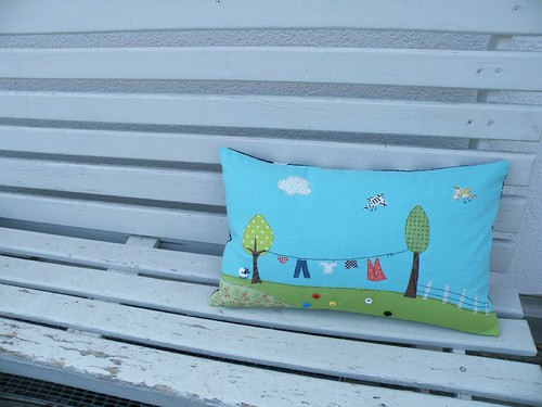 washingline pillow - finished | by monaw2008