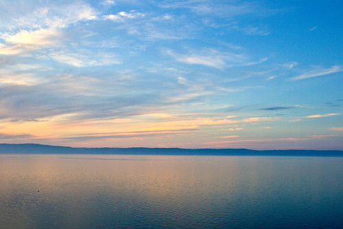 Colours of lake Baikal at sunset | by Valery Chernodedov