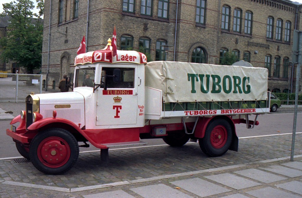 Image result for tuborg truck