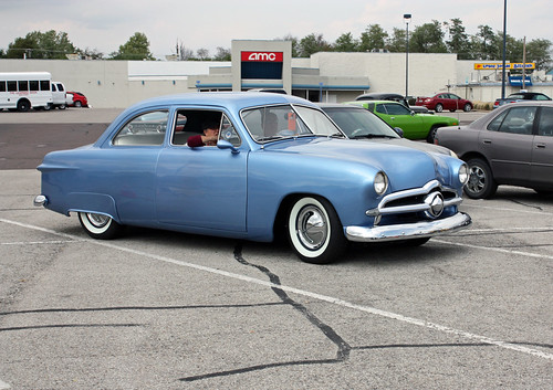 1949 Ford Custom Tudor Sedan (3 of 4) | by myoldpostcards