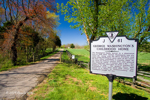 George Washington's Childhood Home | Augustine Washington's … | Flickr