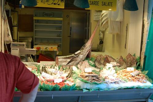 Swordfish swordfish at the venice fish market frank for Franks fish market