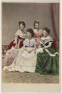 The Carandini ladies, one of Australia's first opera performing families, ca. 1875 / photographer Charles Hewitt (attributed) | by State Library of New South Wales collection
