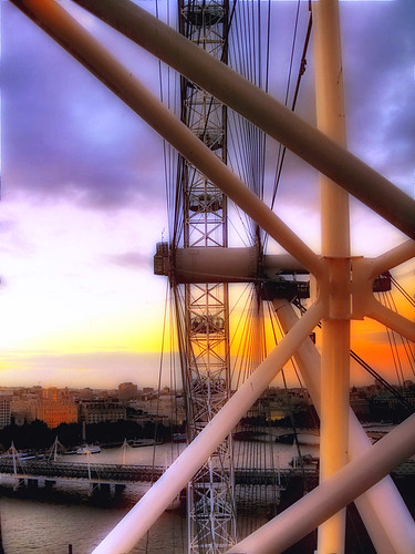 Sunset from the Eye | by urbaguilera