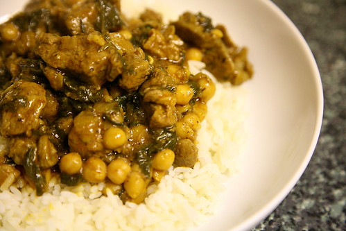 Lamb, spinach & chickpea curry | Lamb Rogan Josh with ...