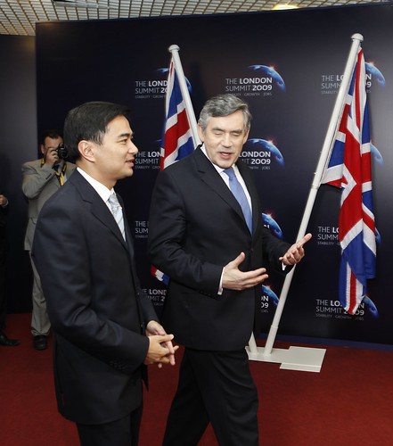 Thailand PM Abhisit Vejjajiva | by London Summit