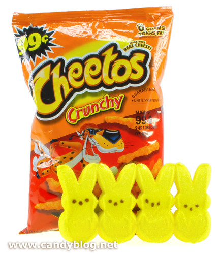 Peeps + Cheetos | by cybele-