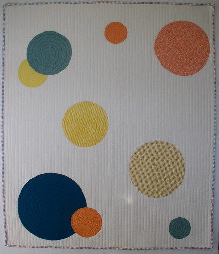Circles Baby Quilt | by Quilting Up A Creek by Carolyn Hughey