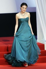 Shu Qi at Cannes 2009 - opening | by shuqiworld