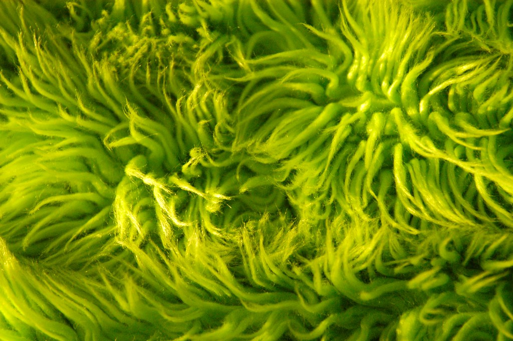 ... Lime Green Shag Rug Texture | By Abby Lanes