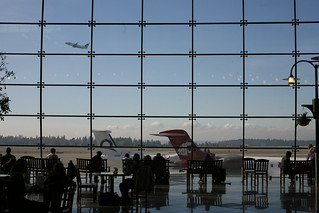 Window in Seattle airport | by Robert Scoble