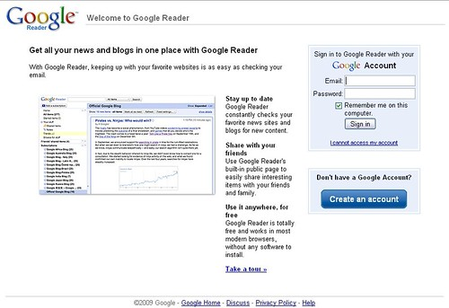 Google Reader | by jordan.conway