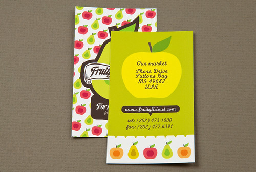 Graphic Farmers Market Business Card | by inkdphotos