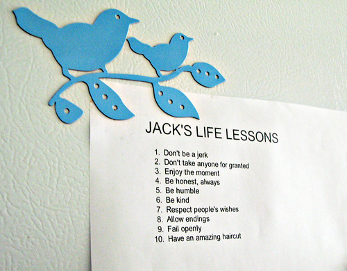 jack's life lessons | by iluvpepero