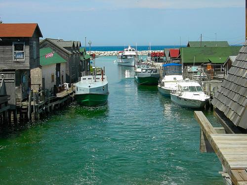 Fishtown leland mi bluejacket flickr for Lake leelanau fishing