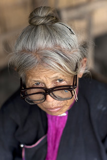 Two glasses for Lanten grandma Laos | by Eric Lafforgue