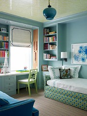 Turquoise Bedroom | by Jessie {Creating Happy}