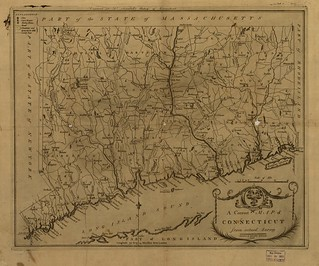 A correct map of Connecticut from actual survey. | by uconnlibrariesmagic