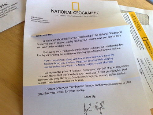 The National Geographic charity appeal | by benaston