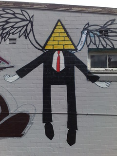 triangle man | by yewenyi