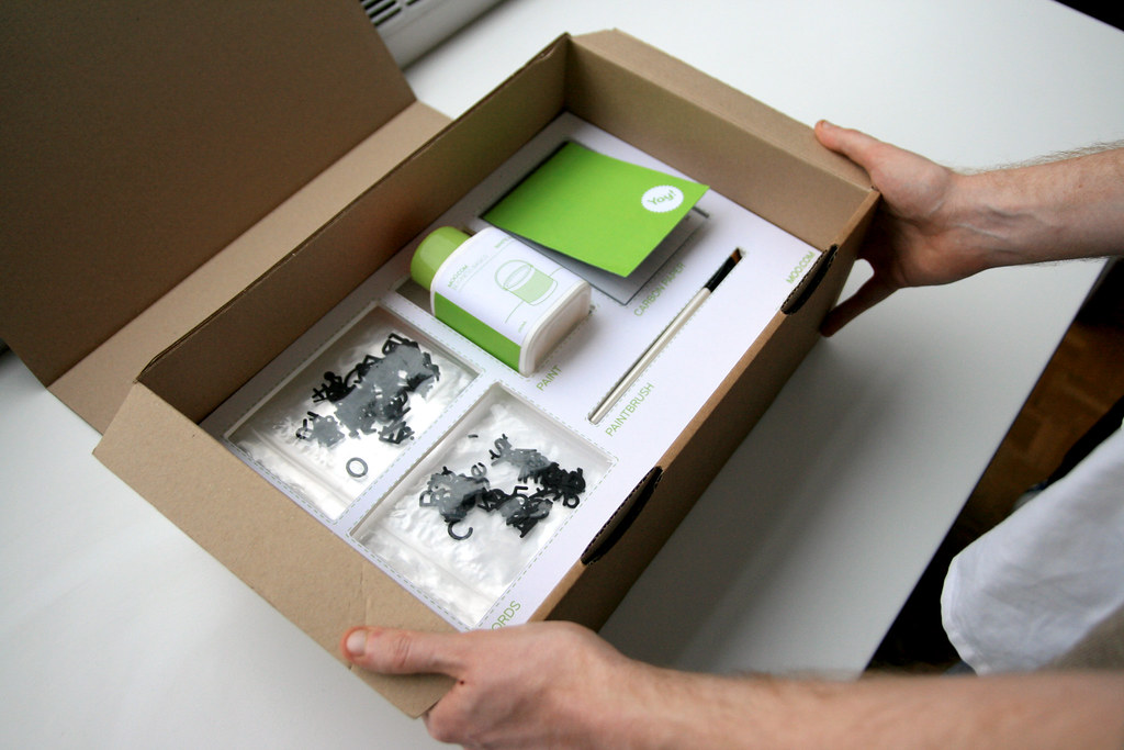 Opening SUPER ECO FRIENDLY Business Cards | woo! www.moo.com… | Flickr