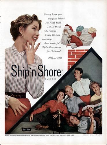 Ship N Shore Blouse 1953 Rita Holcomb Flickr