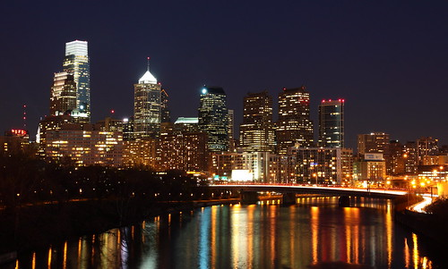 Philadelphia Night Skyline | by A. Couture