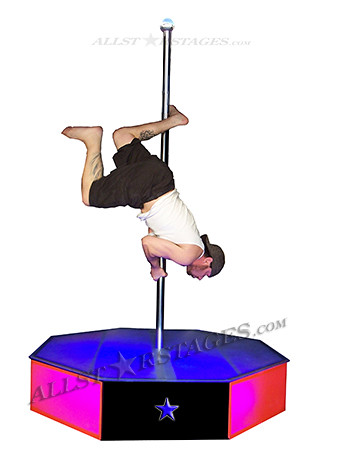 All Star Stages Portable Stripper Pole   by allstarstages. All Star Stages Portable Stripper Pole   Intense Workout by     Flickr