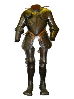 Adults suit of armour (no.2) 150x85cm | by Lichfield District Council