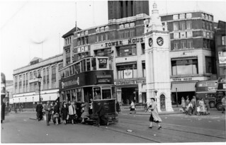 Lewisham High Street 1940's | by Matt the Londoner