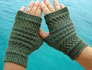 Handknit mitts | by sailingknitter