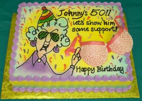 Happy 50th Birthday Cake Johnny
