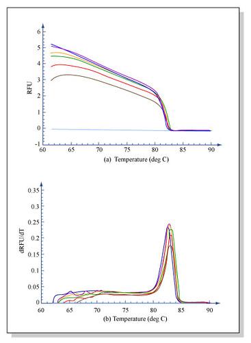 Melting curve analysis