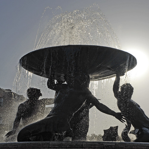 Malta - Valletta - Bus Station Fountain | by Darrell Godliman