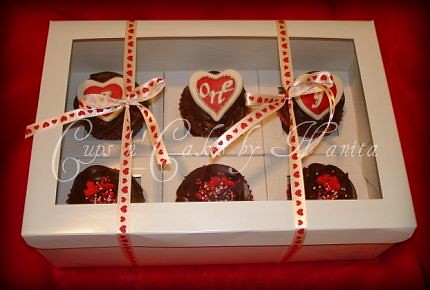 1st year anniversary cupcake special order chocolate valu2026 flickr