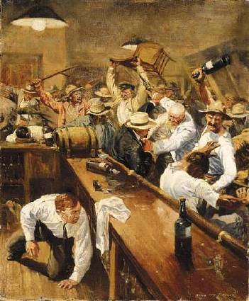 barroom brawl | Daily Dose | Flickr