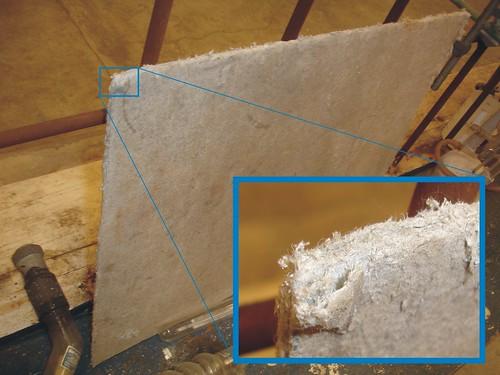 Asbestos Millboard Lab Insulation Example Of Asbestos