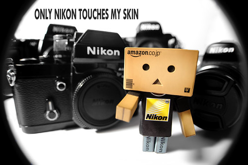 ONLY NIKON TOUCHES MY SKIN | by L S G