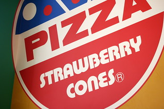 Strawberry Cones Pizza (San Gabriel, CA) | by Food Librarian