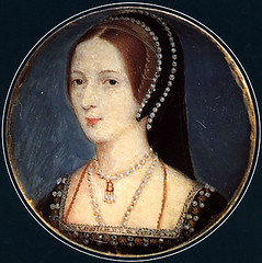A miniature of Anne Boleyn based on the French hood pattern | by lisby1