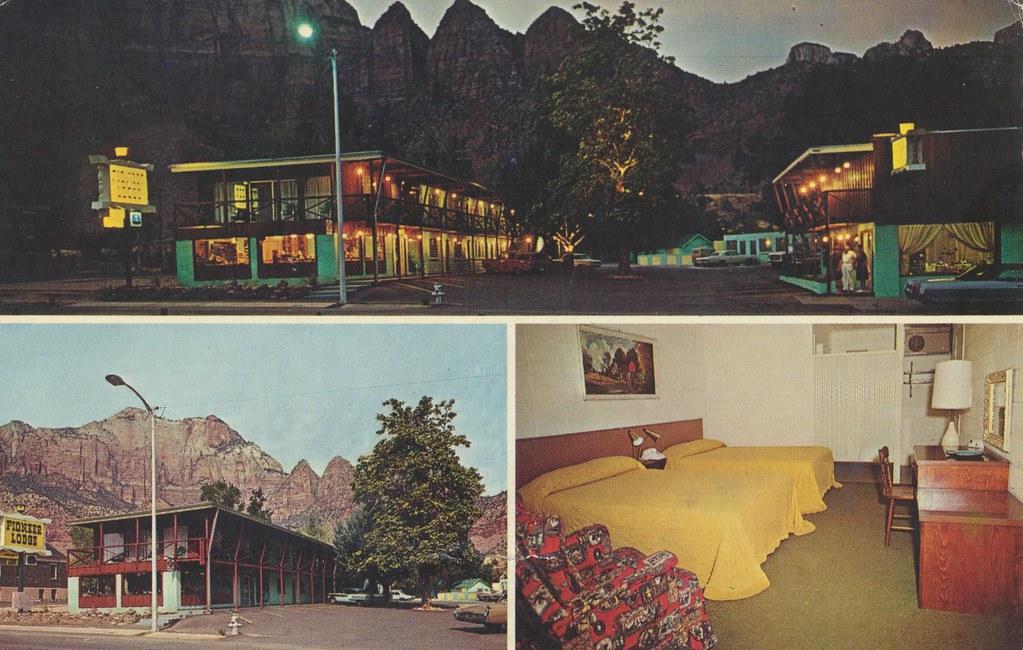 Pioneer Lodge Motel & Restaurant - Springdale, Utah